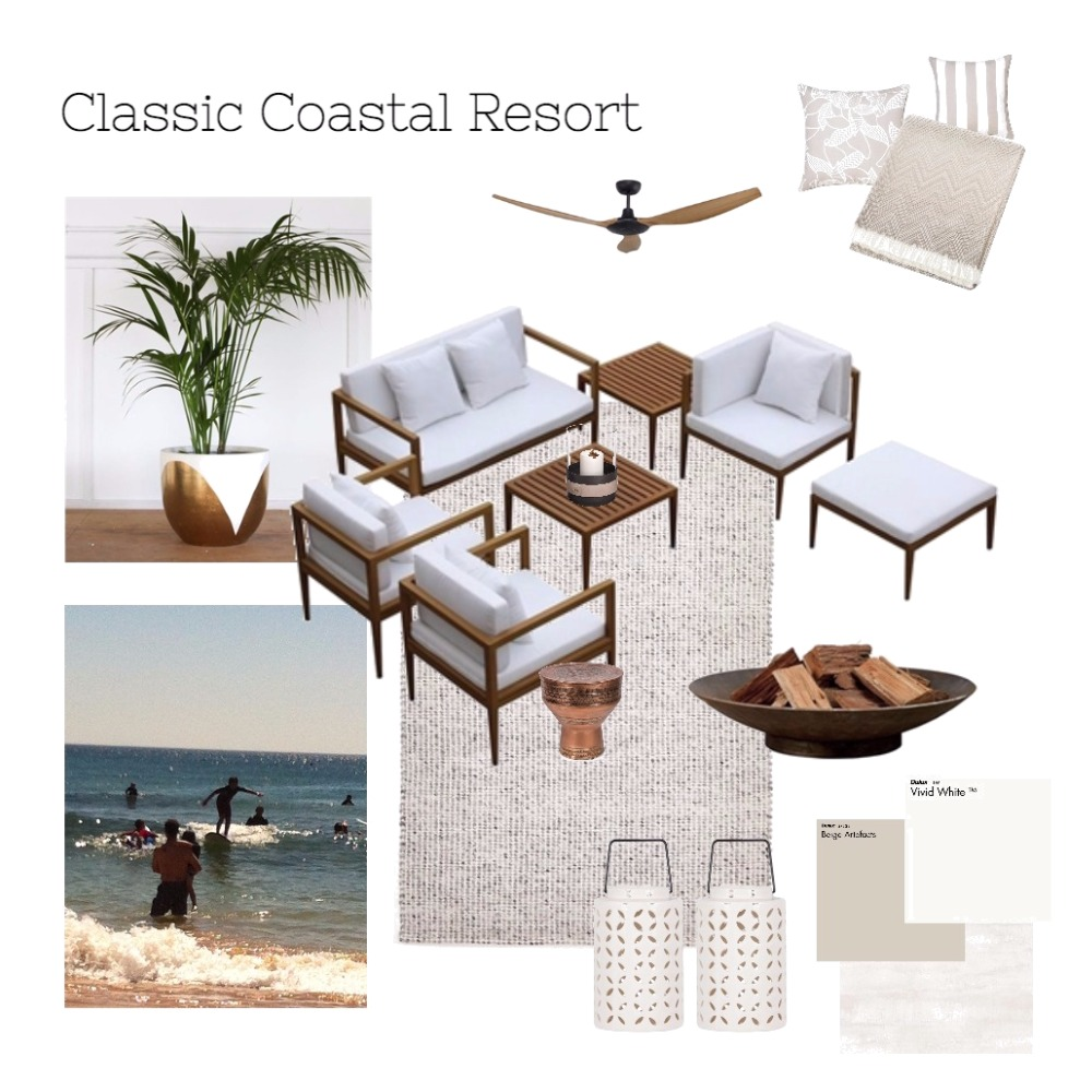 Classic Coastal Resort Mood Board by fox-e-designs on Style Sourcebook