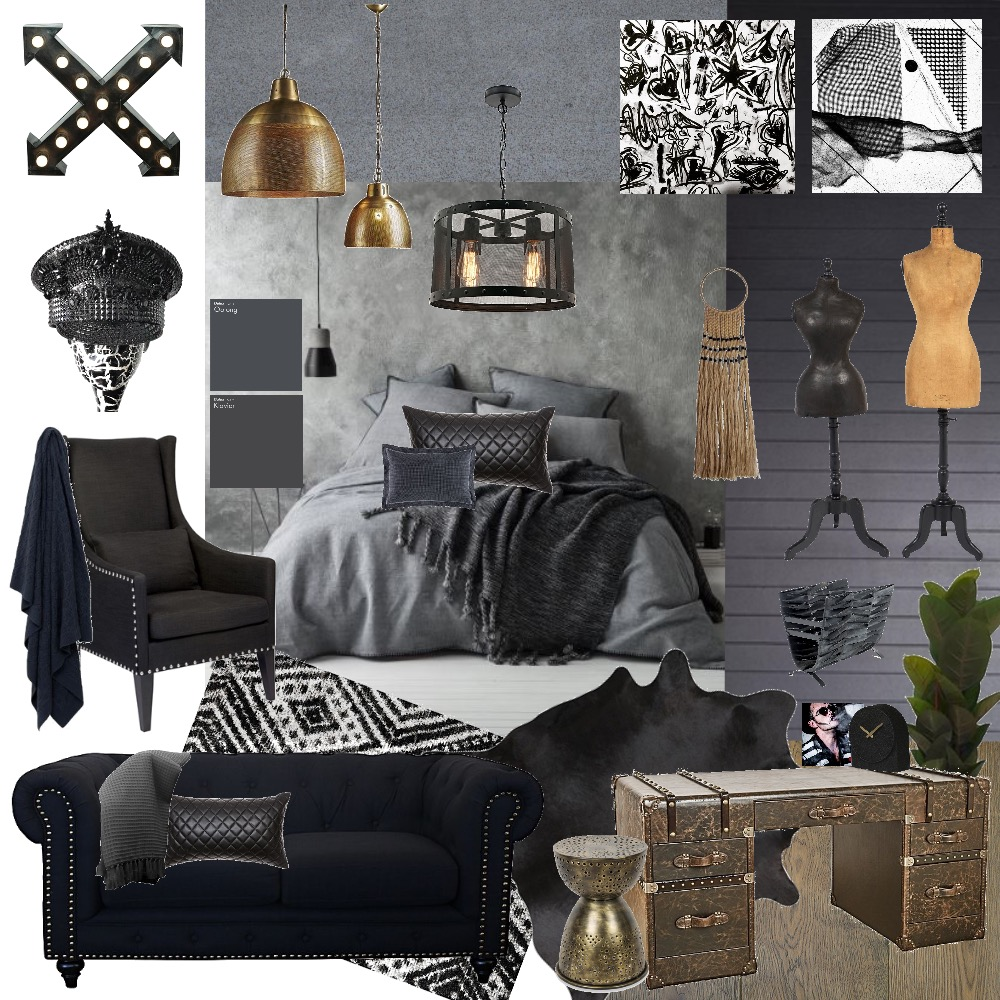 Come to the Dark Side Mood Board by My Kind Of Bliss on Style Sourcebook