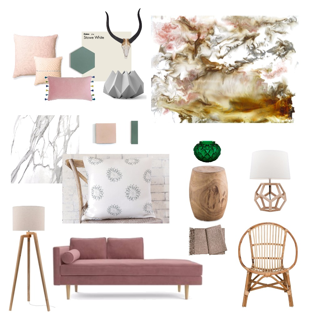 Dusted Desert Interior Design Mood Board by michellejeanstudio on Style Sourcebook
