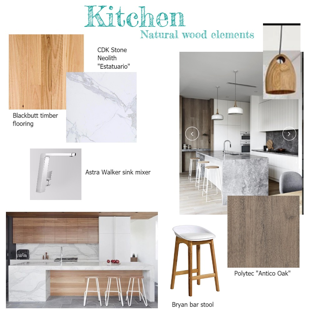 Natural elements kitchen Mood Board by Aecads on Style Sourcebook