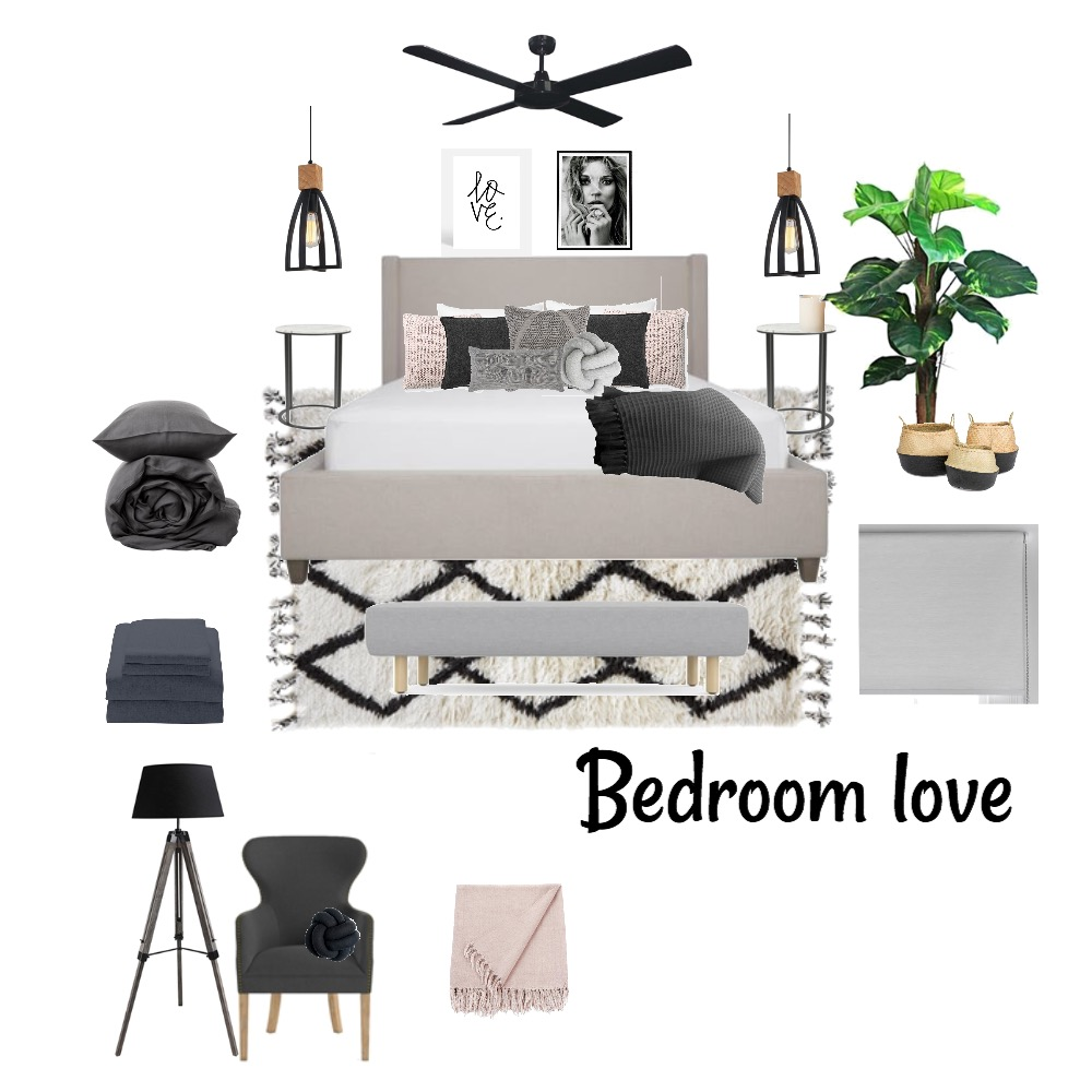 Bedroom Vibes Mood Board by Lozroncato on Style Sourcebook