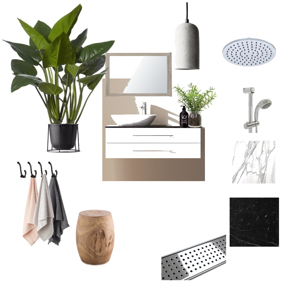 Sharon's bathroom Mood Board by Chelle on Style Sourcebook