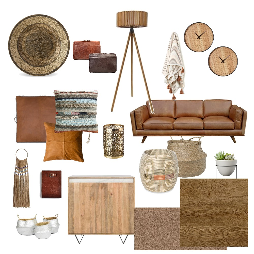 Moroccan Inspired Mood Board by ILP on Style Sourcebook