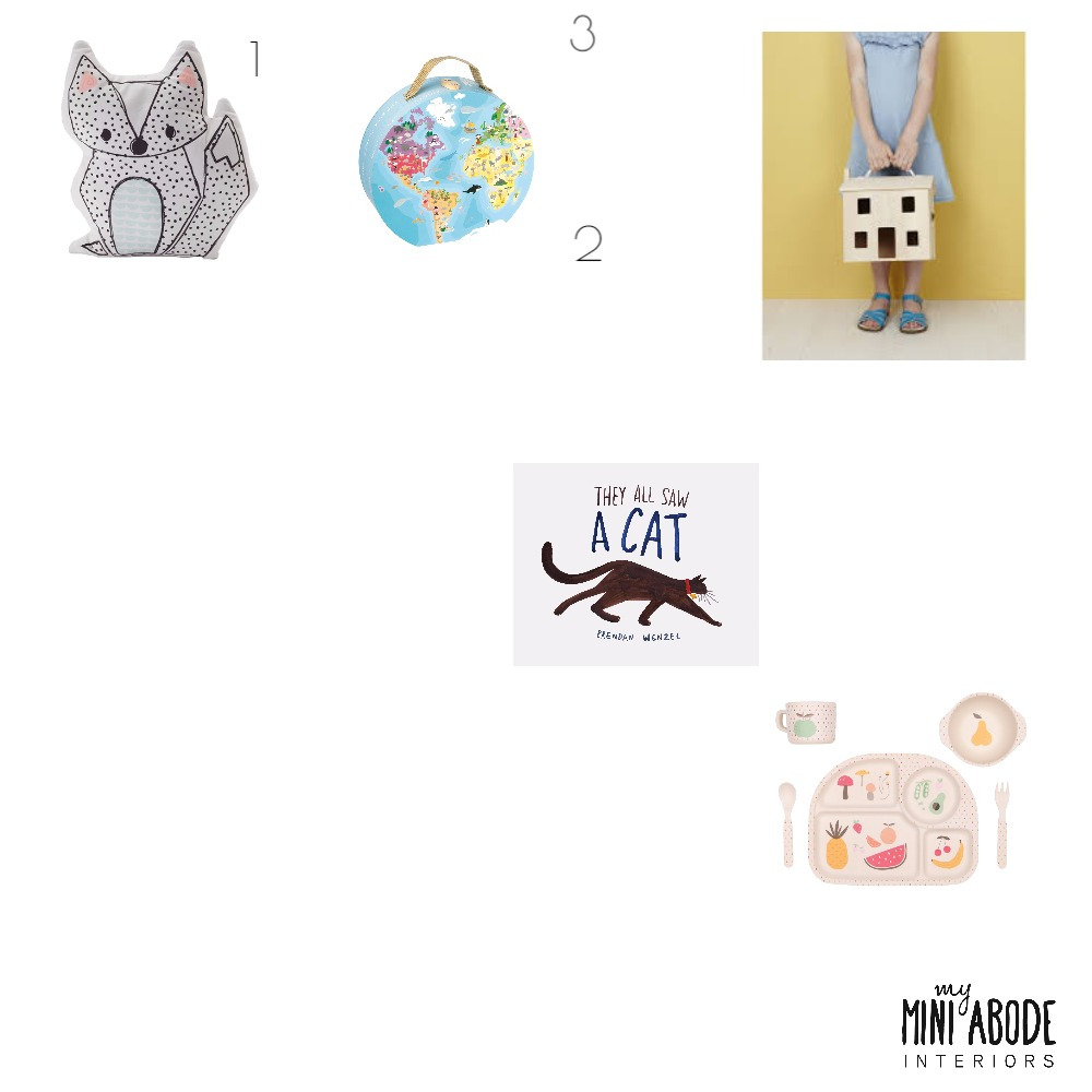 Girls Gift Guide Mood Board by My Mini Abode on Style Sourcebook