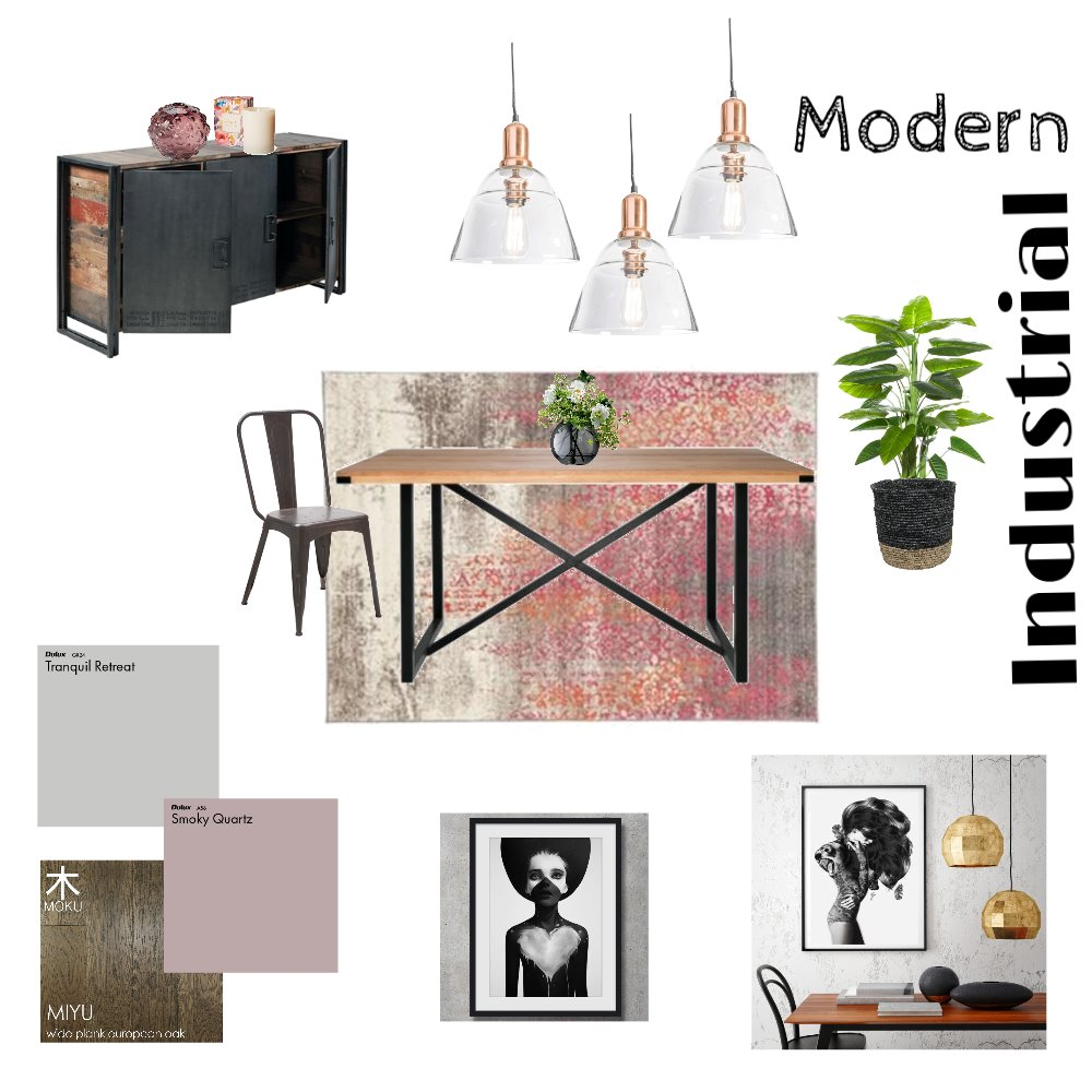 Dining Room Mood Board by Reflective Styling on Style Sourcebook