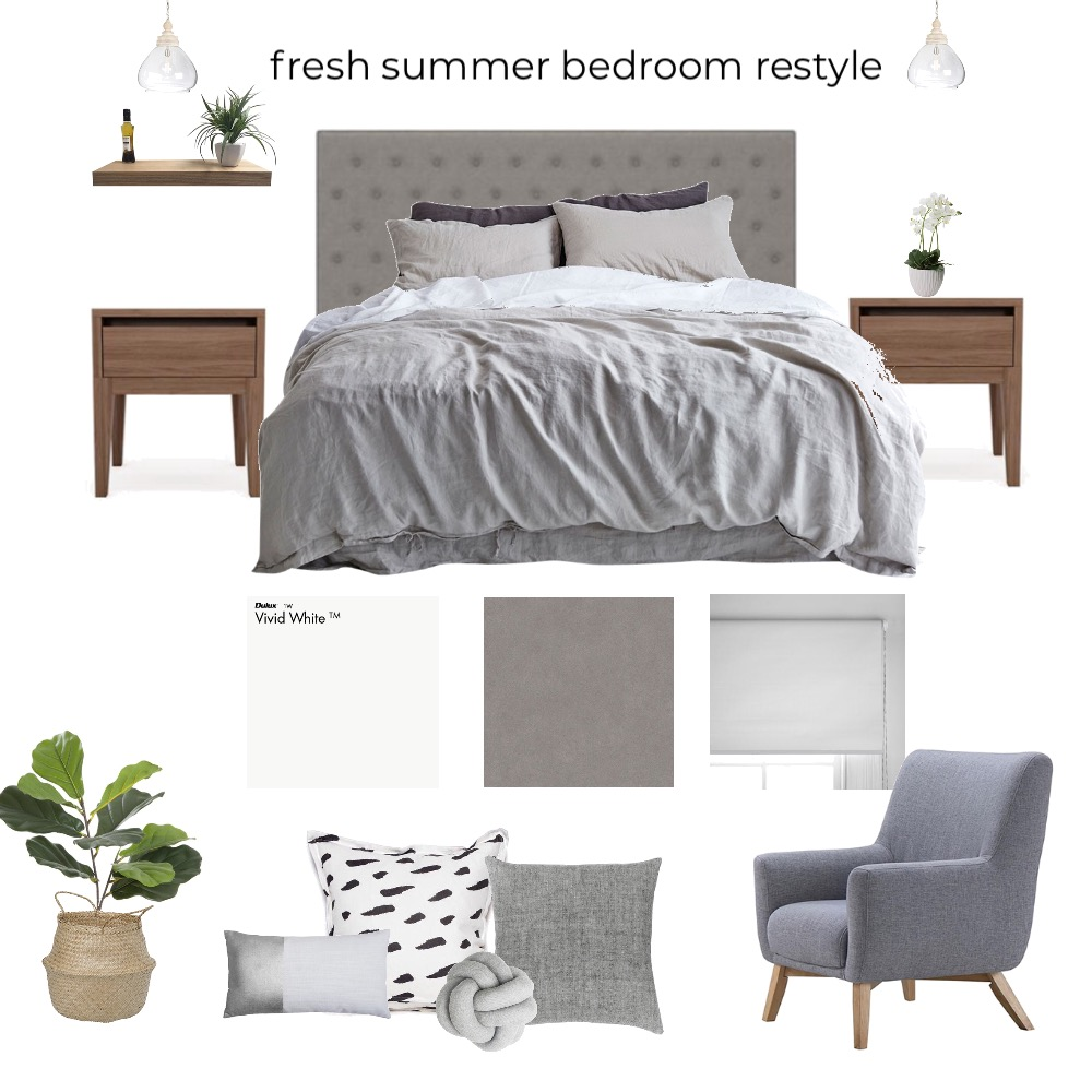 Bedroom Mood Board by kcinteriors on Style Sourcebook