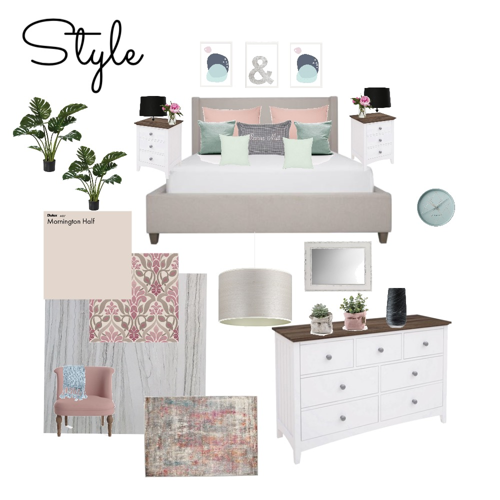 bedroom1 Interior Design Mood Board by Hnouf on Style Sourcebook