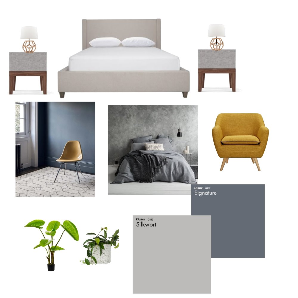 Dulux Master Bedroom -Greys Mood Board by Dulux Colour Design Service on Style Sourcebook