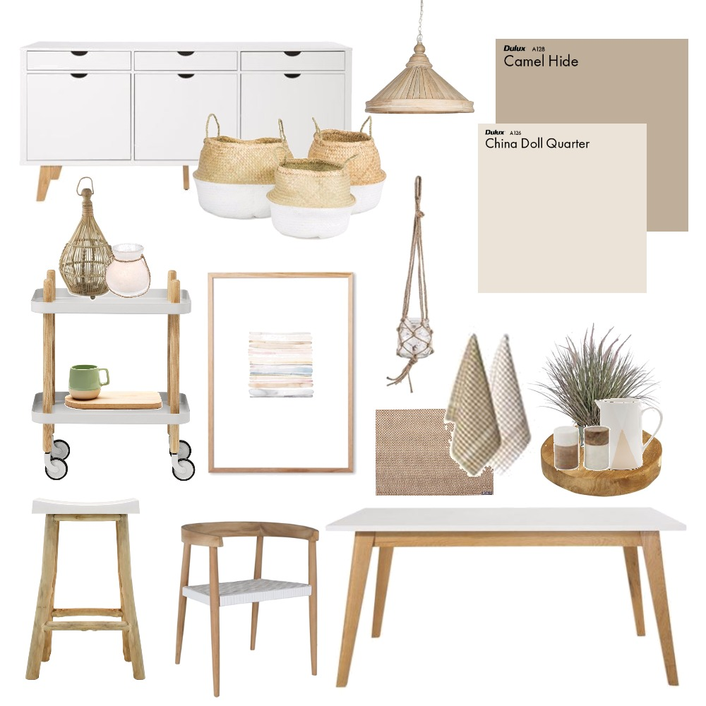Natural dining Mood Board by Thediydecorator on Style Sourcebook
