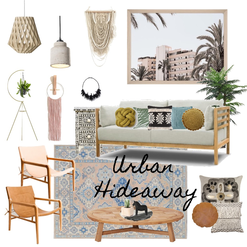 Urban Hideaway Mood Board by My Kind Of Bliss on Style Sourcebook