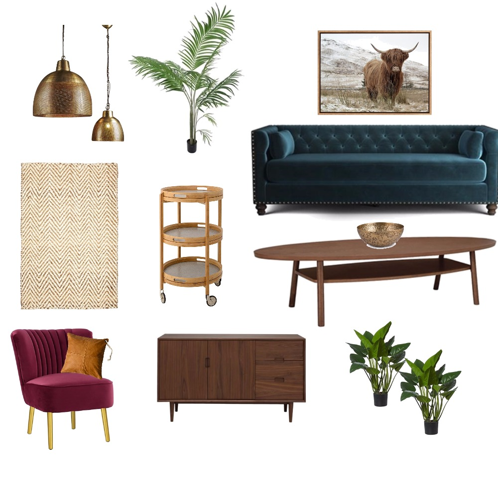 lush velvet and timber Mood Board by betterhomesandhartleys on Style Sourcebook