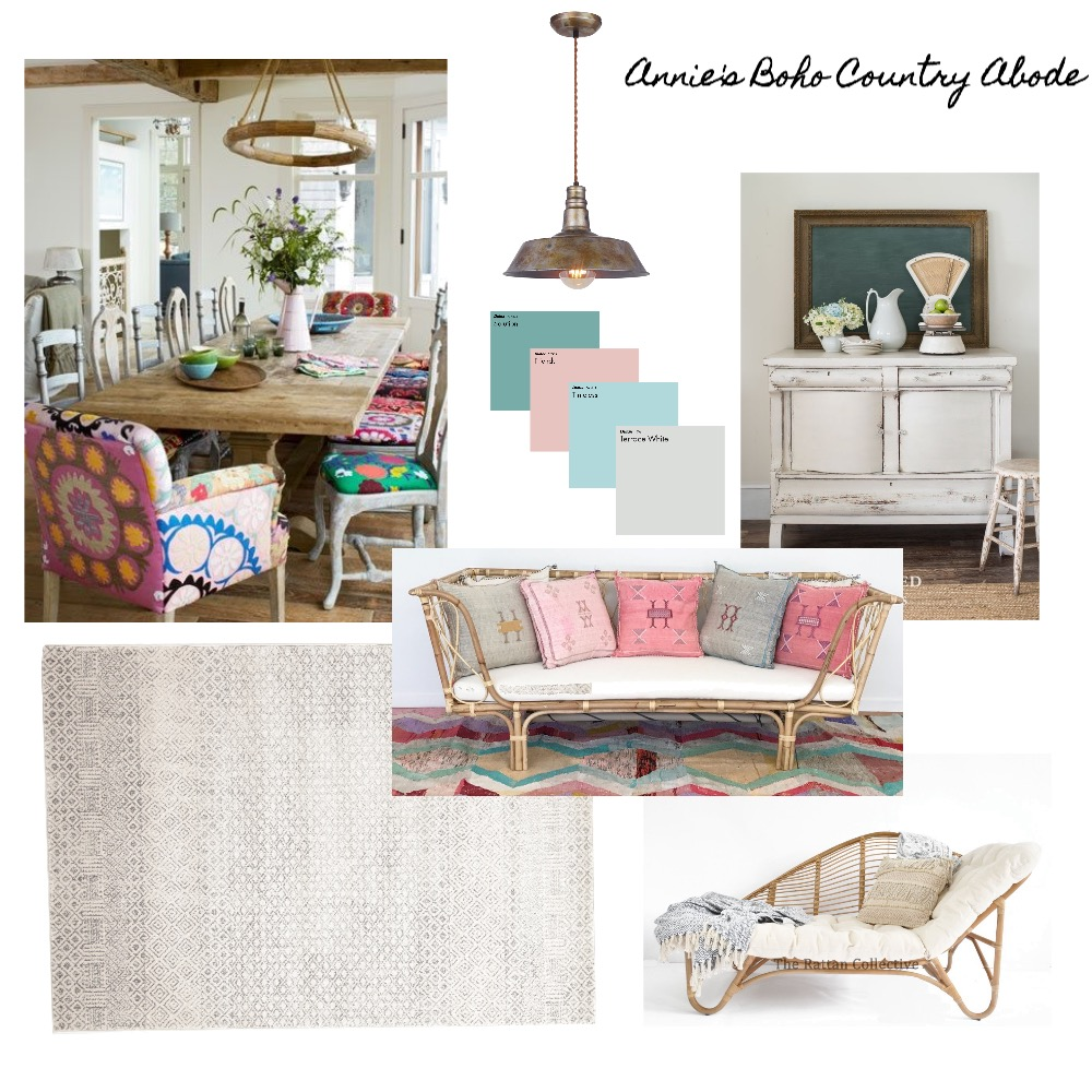 Annie's Family/Dining Room Mood Board by isDesign on Style Sourcebook