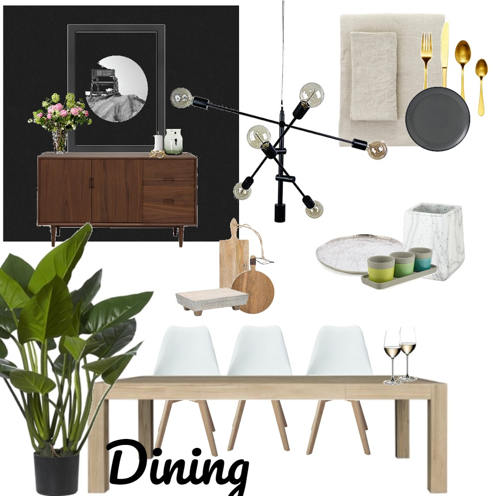 Dining Mood Board by LIZAS on Style Sourcebook