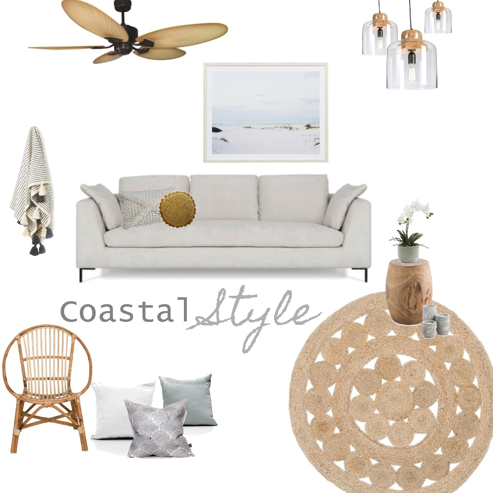 Coastal Mood Board by thebohemianstylist on Style Sourcebook
