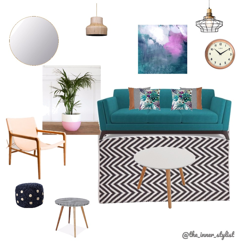 Teal Delight Mood Board by Plant some Style on Style Sourcebook