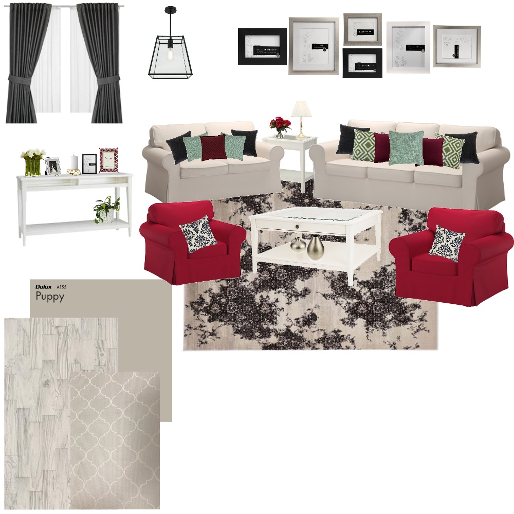 ikea living room Mood Board by Hnouf on Style Sourcebook