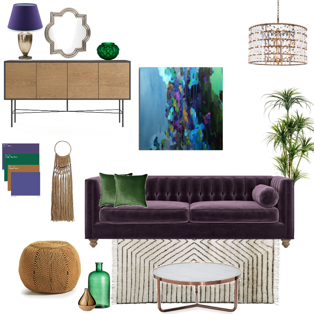 ultra violet split complementary Mood Board by Letitiaedesigns on Style Sourcebook