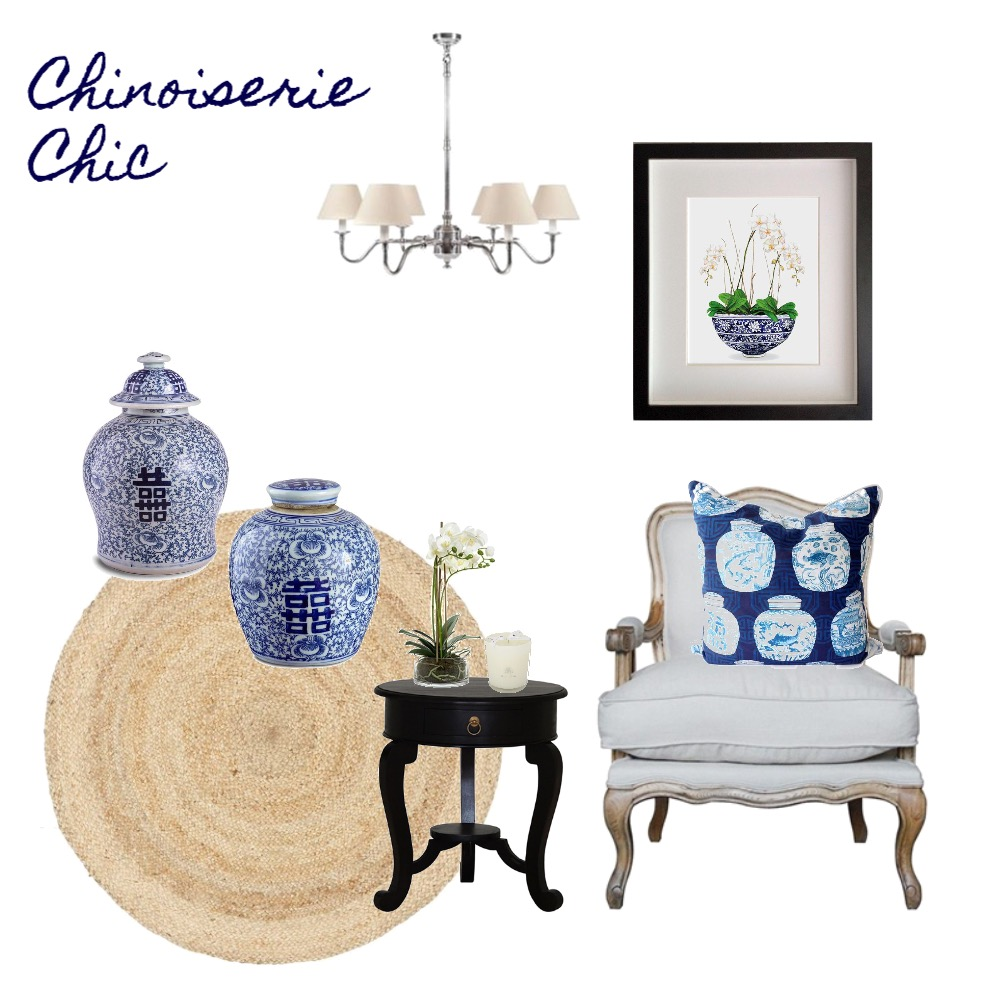 Chinoiserie Chic Mood Board by DIYDecorator on Style Sourcebook