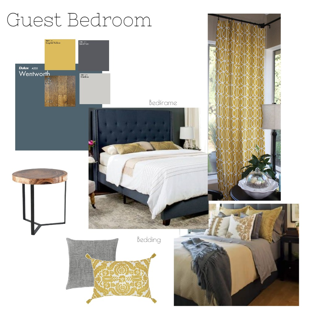Guest Room 1st floor Mood Board by Emaloi20 on Style Sourcebook