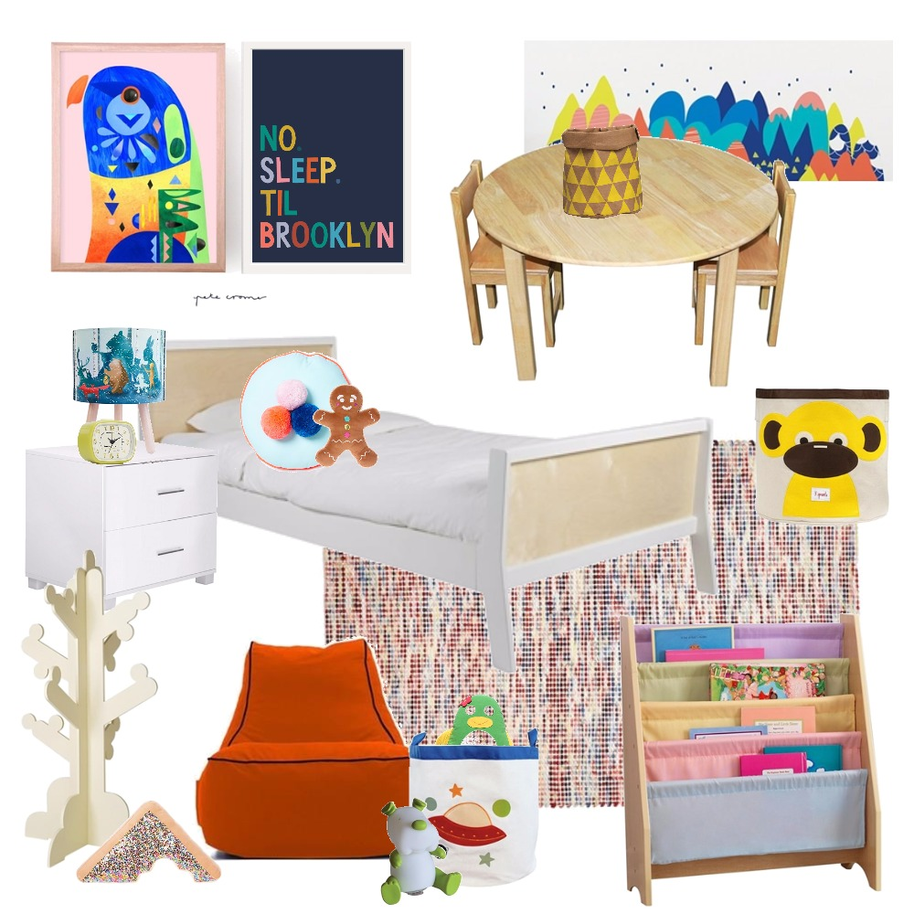 Colourful kids room Mood Board by Thediydecorator on Style Sourcebook