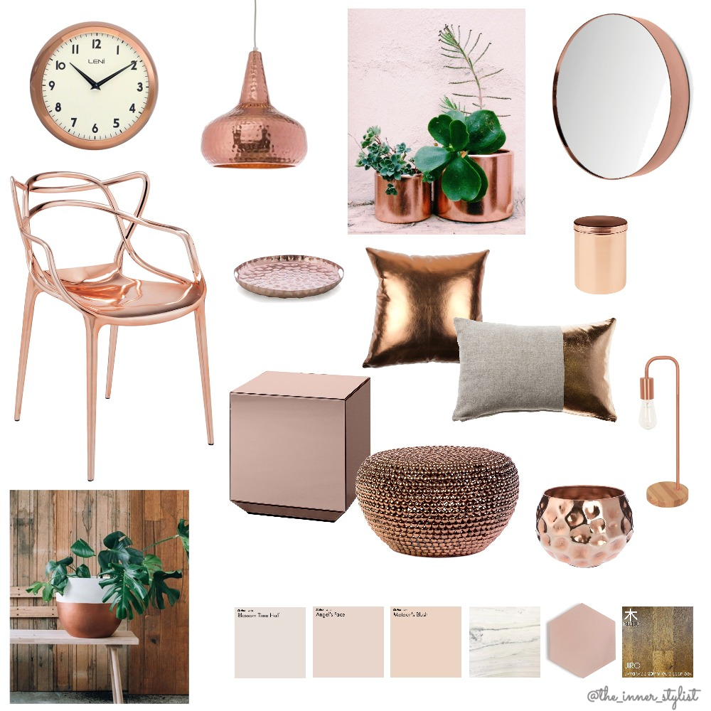 Copper Candy Mood Board by Plant some Style on Style Sourcebook