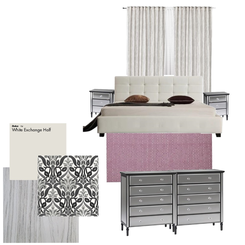 new bedroom Interior Design Mood Board by Hnouf on Style Sourcebook