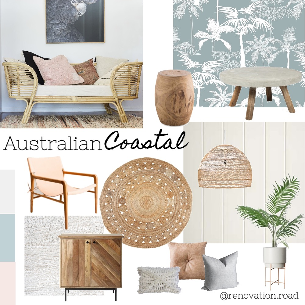 Australian Coastal Interior Design Mood Board by Renovation Road on Style Sourcebook