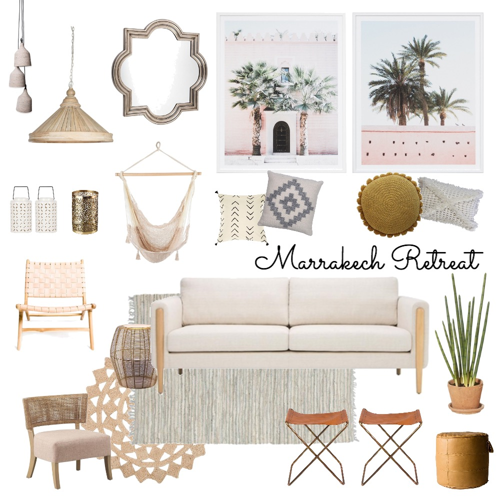 Marrakech Retreat Mood Board by My Kind Of Bliss on Style Sourcebook