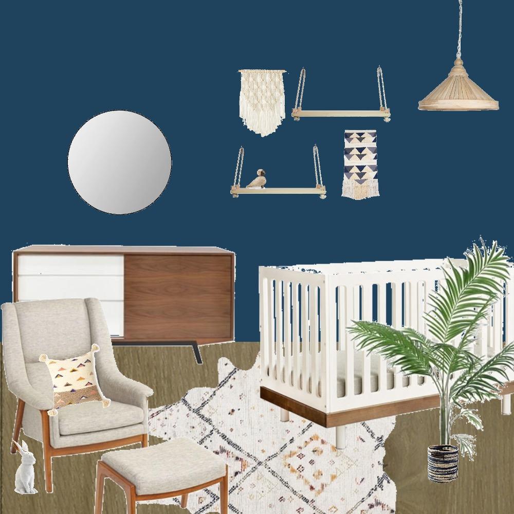 Bohemian 70s Nursery Mood Board by Krysti-glory90 on Style Sourcebook