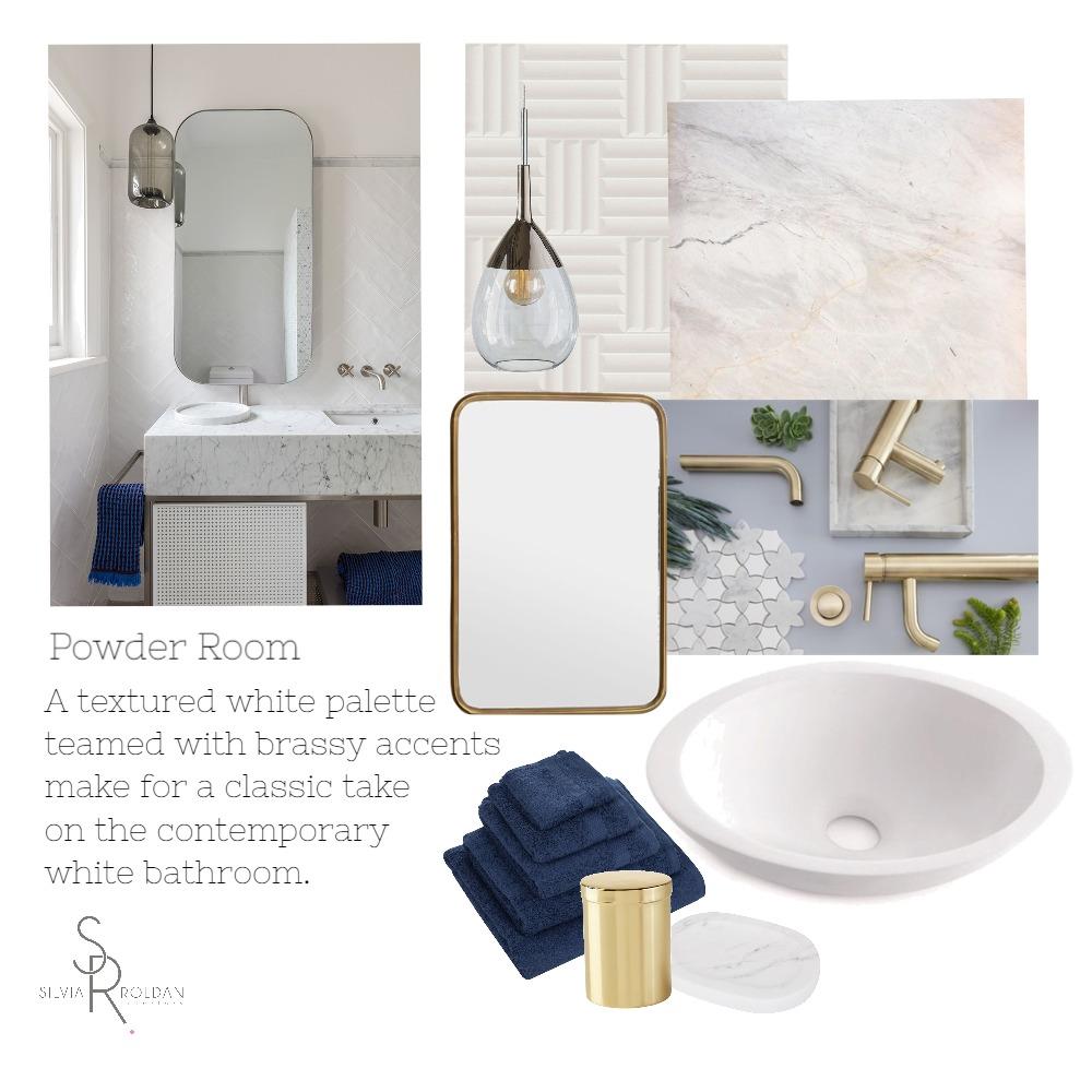 Powder Room Interior Design Mood Board by Silvia Roldan Interiors on Style Sourcebook