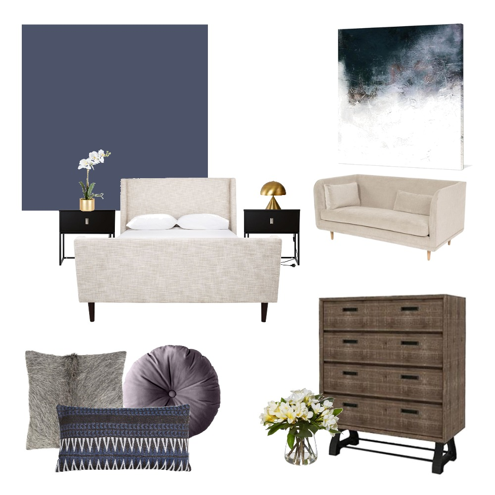 Guest bedroom Mood Board by Laura on Style Sourcebook