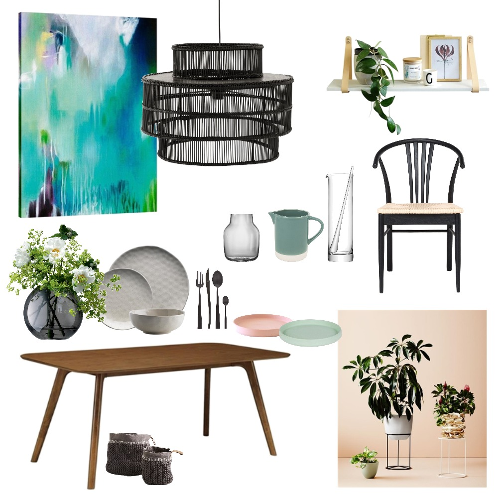 Colourful Dining Mood Board by Fauve_by_Design on Style Sourcebook