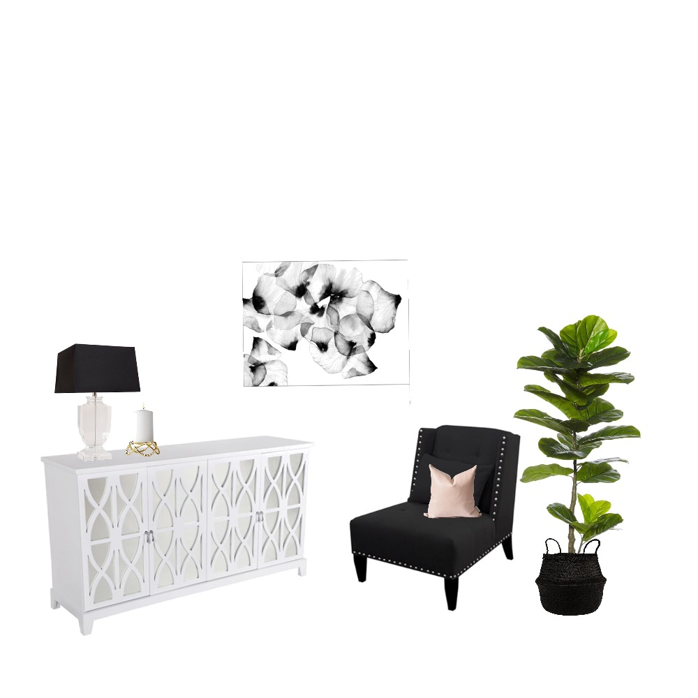 Classic Monochrome Mood Board by Lifestyle_Love_Interiors on Style Sourcebook