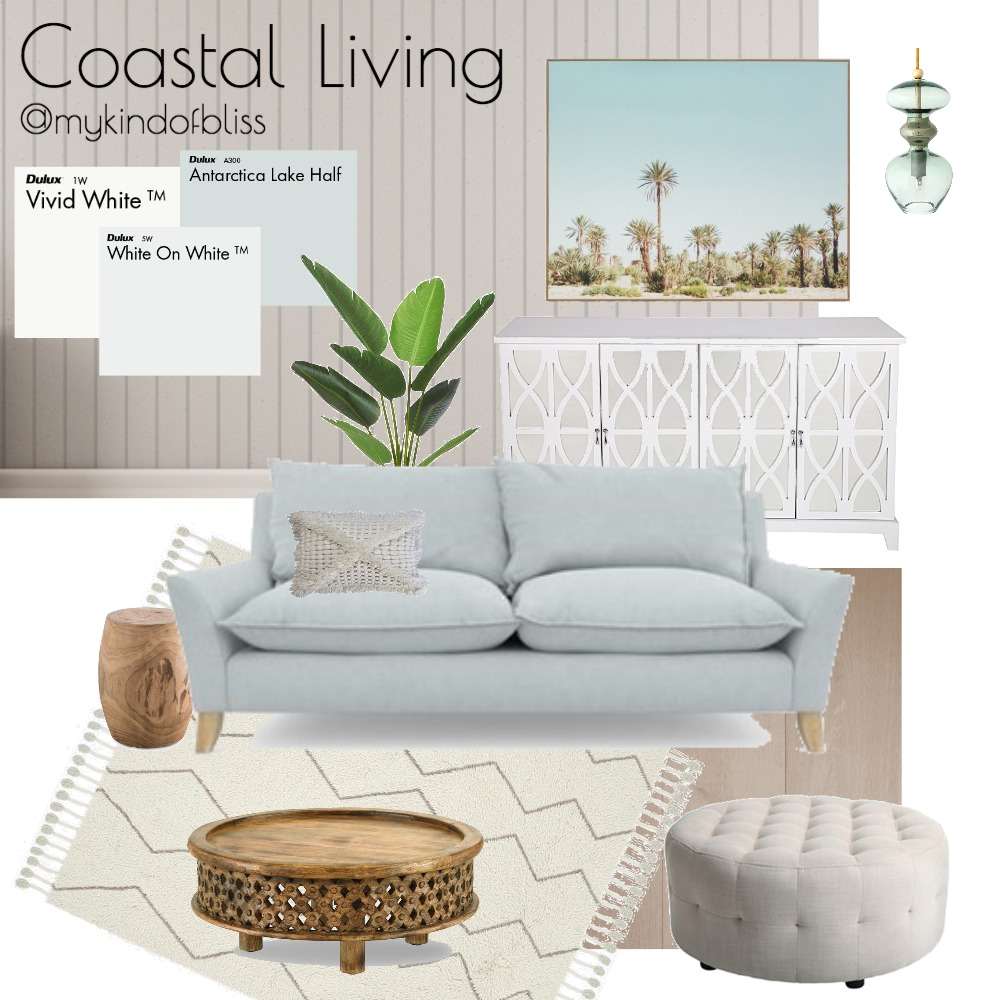 Coastal Living Mood Board by My Kind Of Bliss on Style Sourcebook