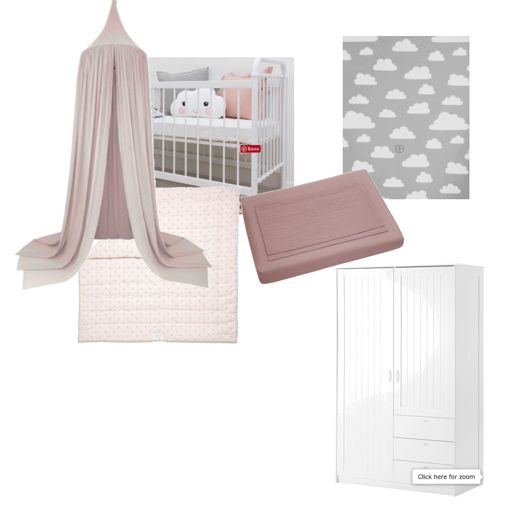 baby girls nursery Mood Board by Grace and Edward on Style Sourcebook