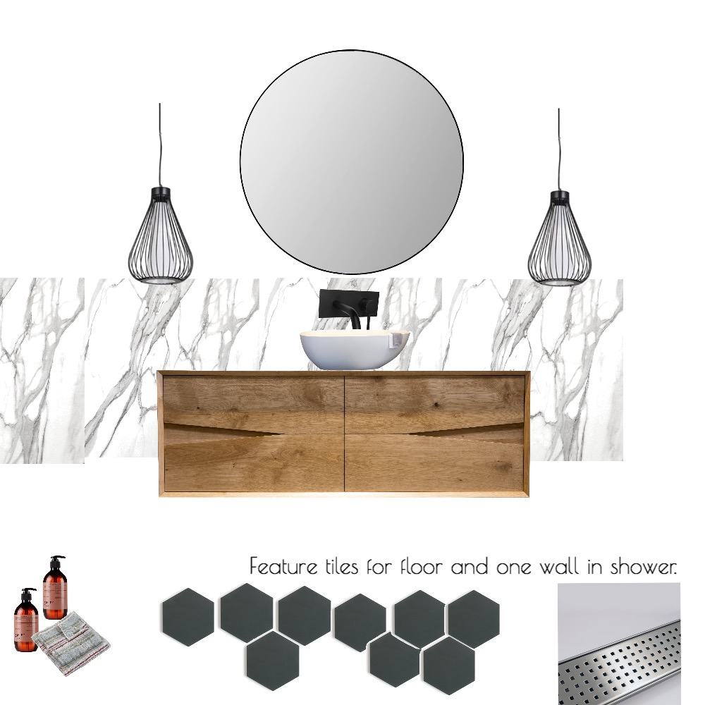 Chic Bathroom Mood Board by Joanne on Style Sourcebook
