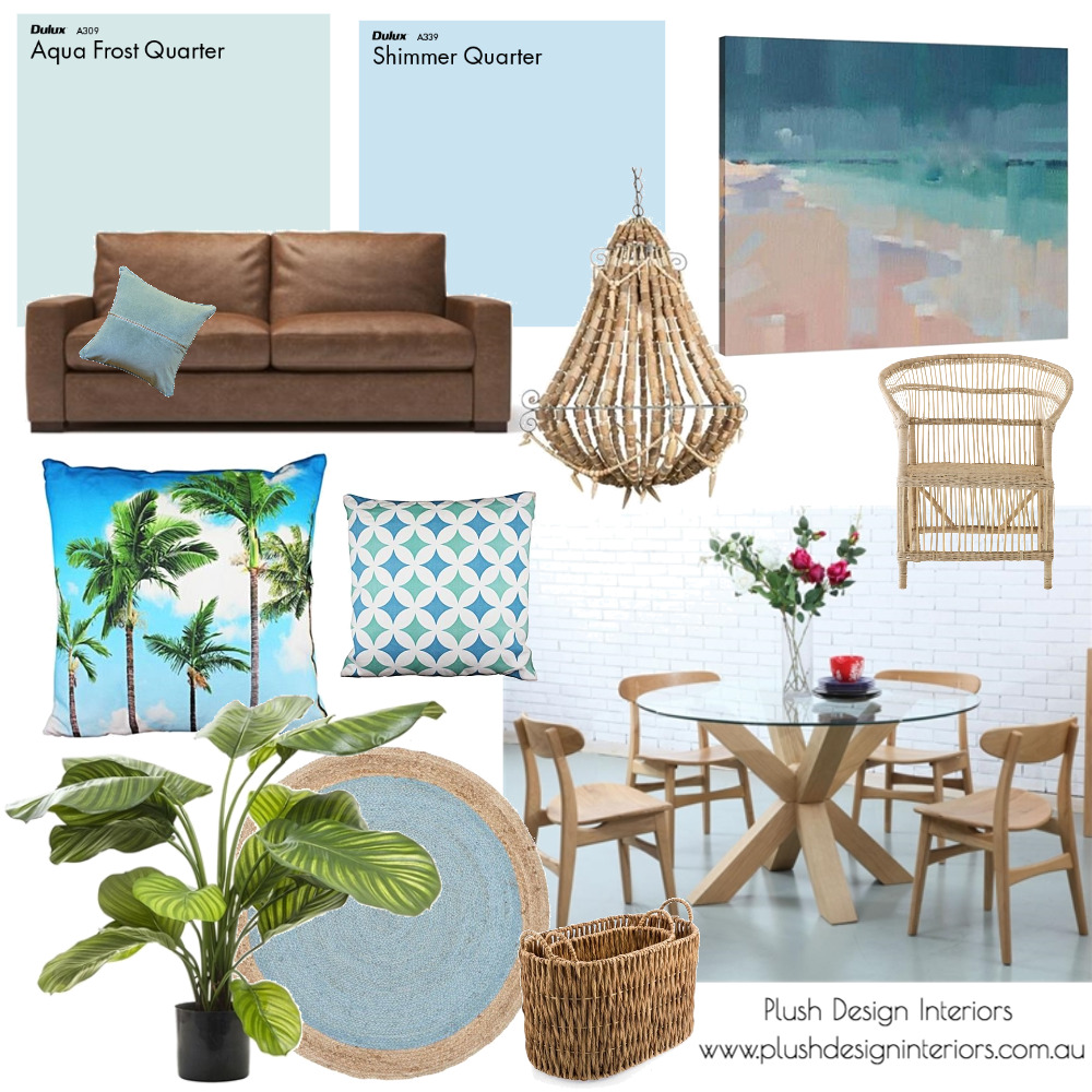 Largs North Adding Blue Green Mood Board Mood Board by Plush Design Interiors on Style Sourcebook