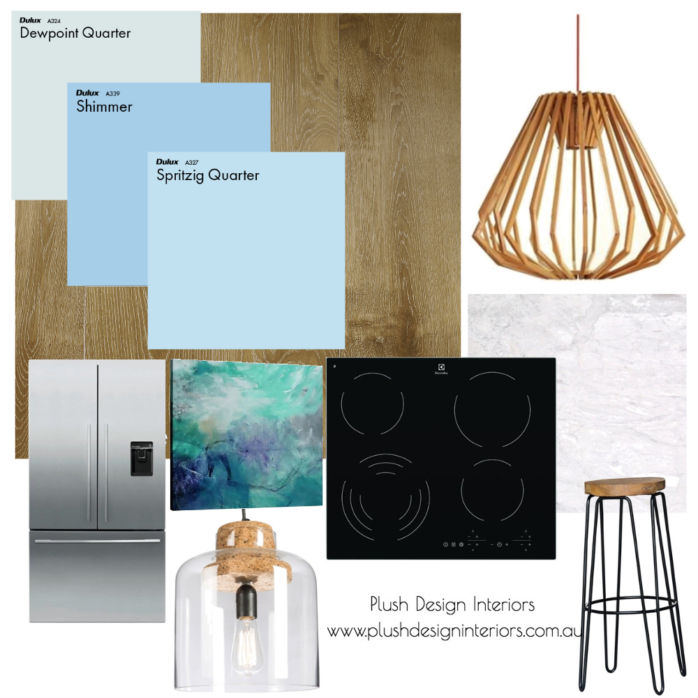 Largs North Kitchen Mood Board Mood Board by Plush Design Interiors on Style Sourcebook