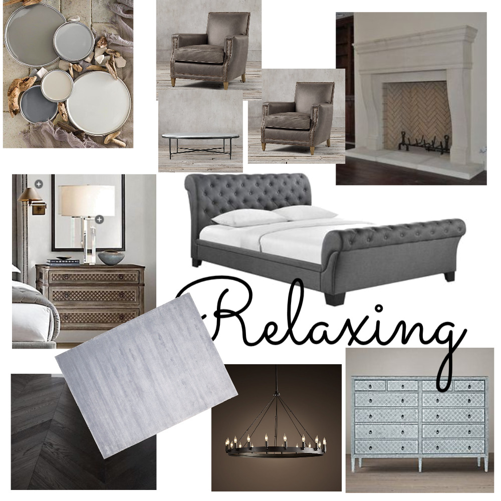 Relaxing Bedroom Interior Design Mood Board by emckee on Style Sourcebook