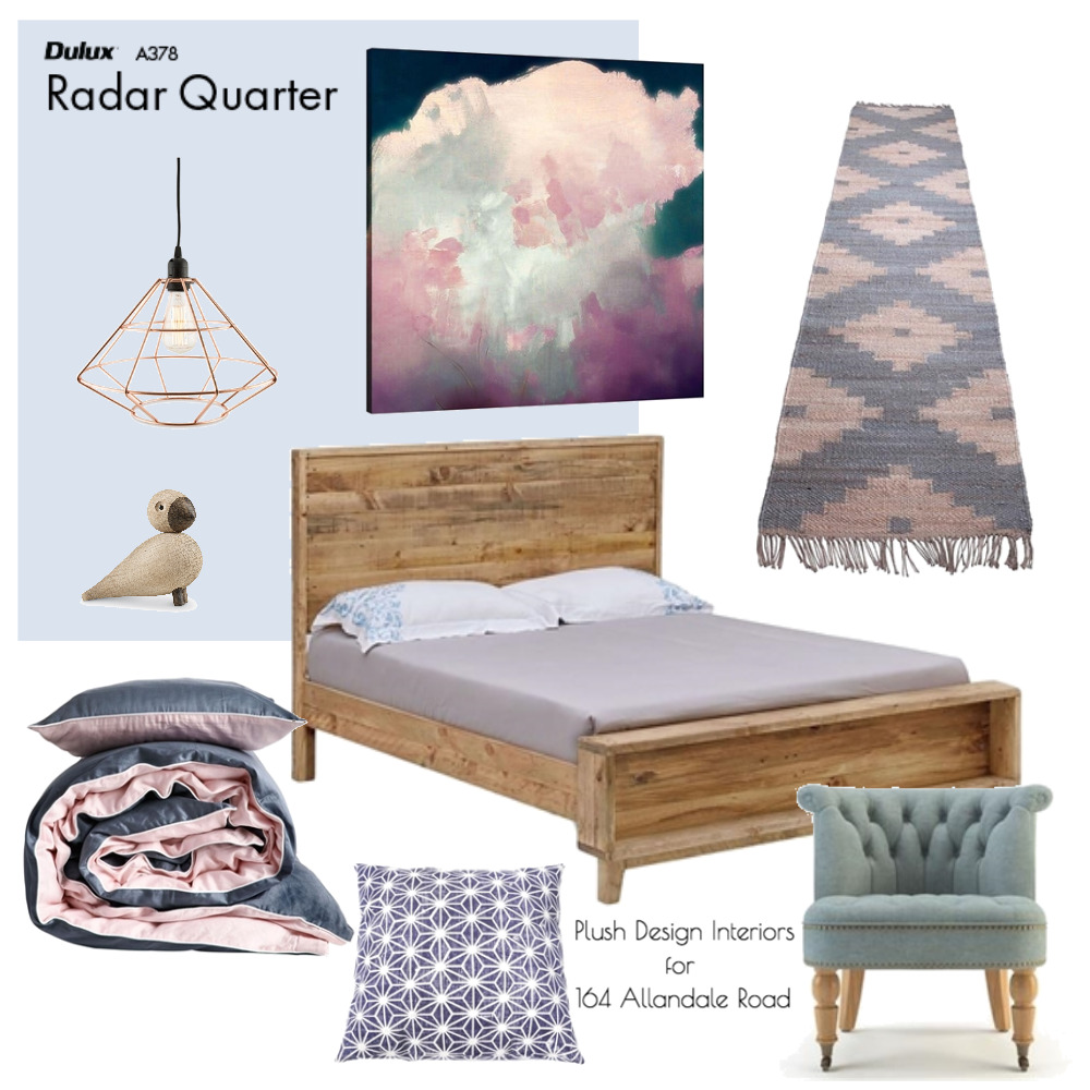 Guest Bedroom Mood Board for Strathalbyn Mood Board by Plush Design Interiors on Style Sourcebook