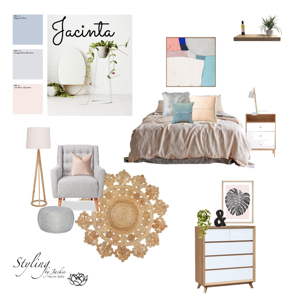 Jacinta Mood Board by Styling by Jackie on Style Sourcebook