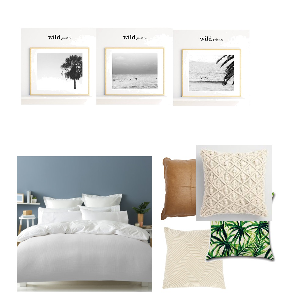 Boho coastal bedroon Mood Board by Rhondamc on Style Sourcebook