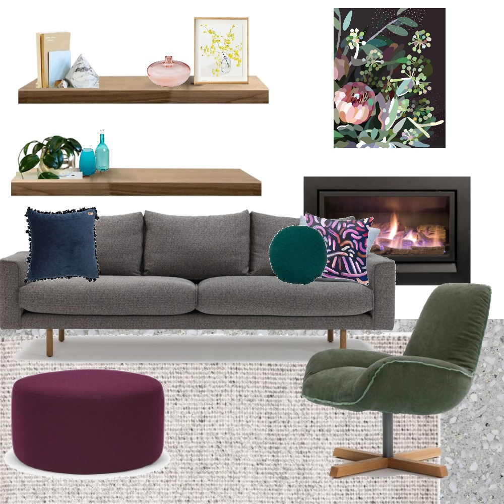 Hoffman - Living Mood Board by Holm_and_Wood on Style Sourcebook