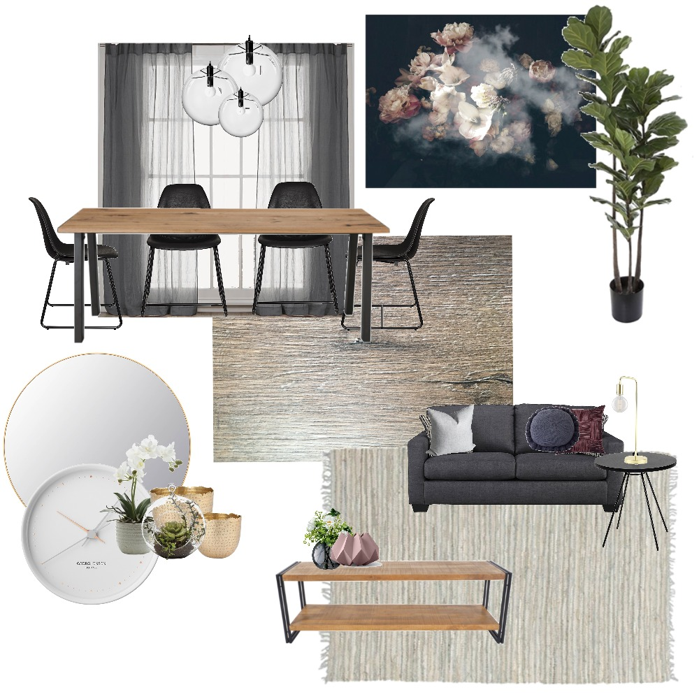 Option 3: Living/Dining/Kitchen Mood Board by houseofhangi on Style Sourcebook