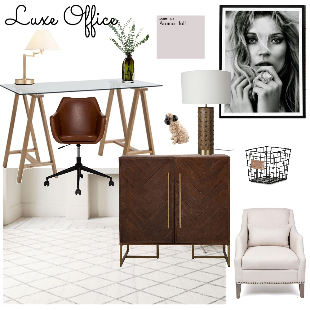 luxe office Mood Board by Carla on Style Sourcebook