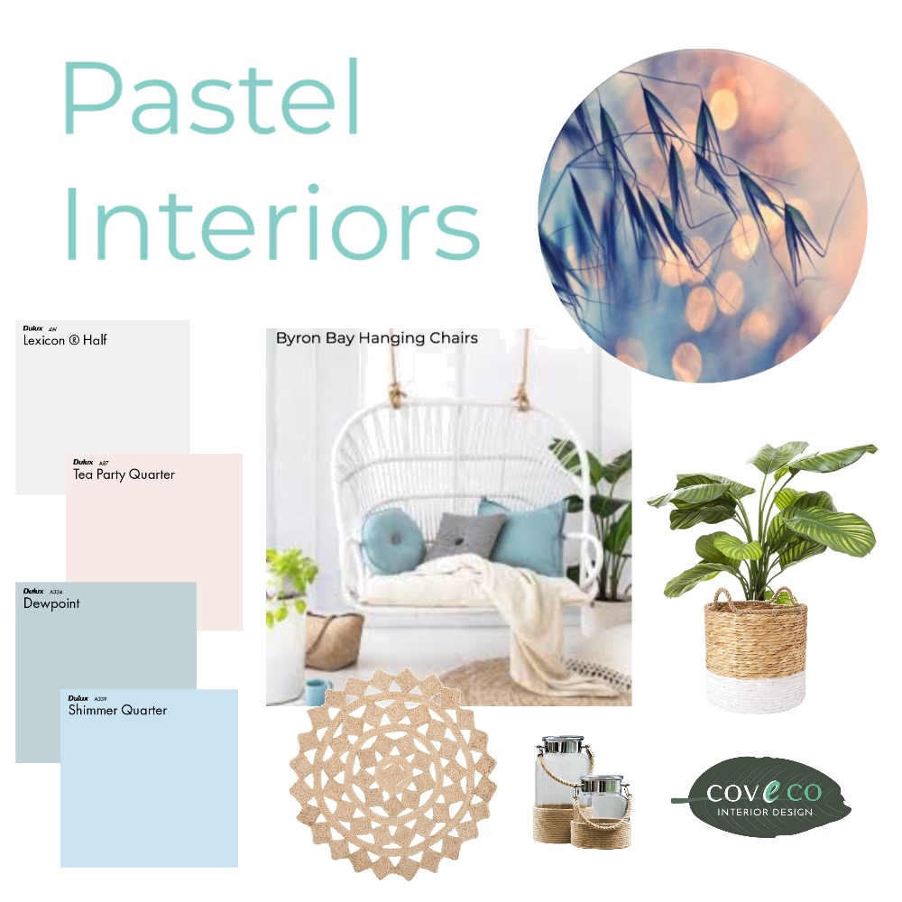 Pastel Interiors Mood Board by Coveco Interior Design on Style Sourcebook