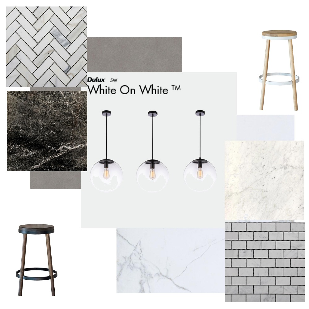 Steves kitchen. Black on White or White on White Interior Design Mood Board by OliviaRJ on Style Sourcebook
