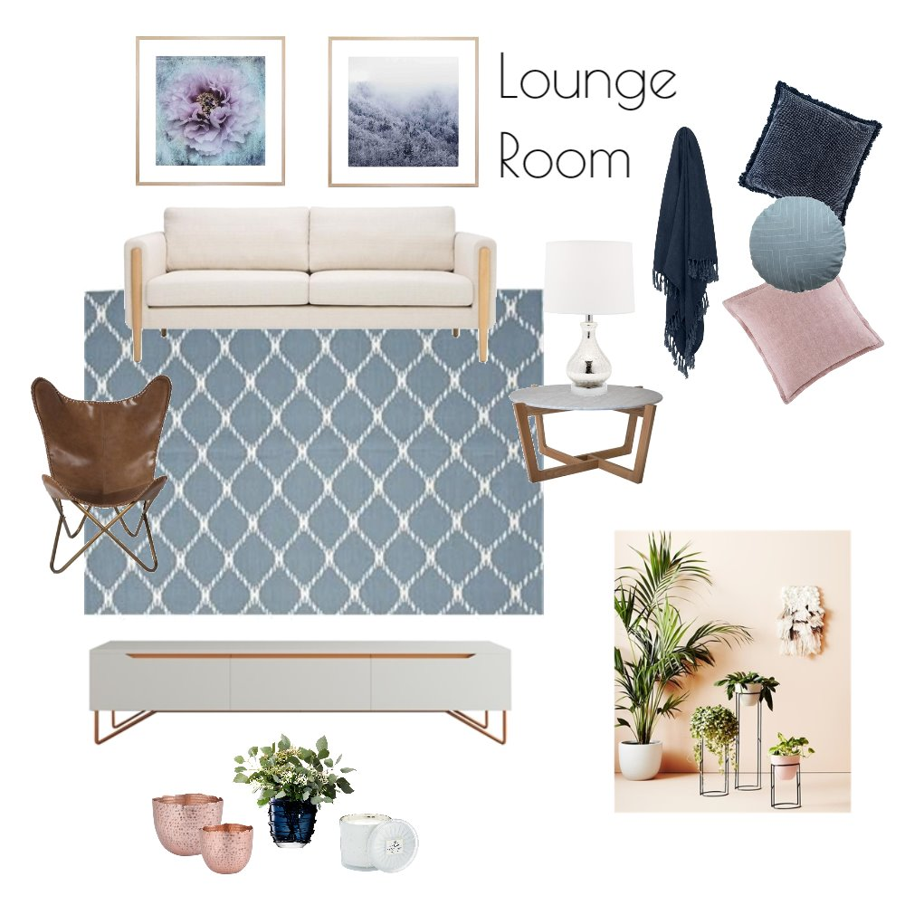 Lounge Room Mood Board by Reflective Styling on Style Sourcebook