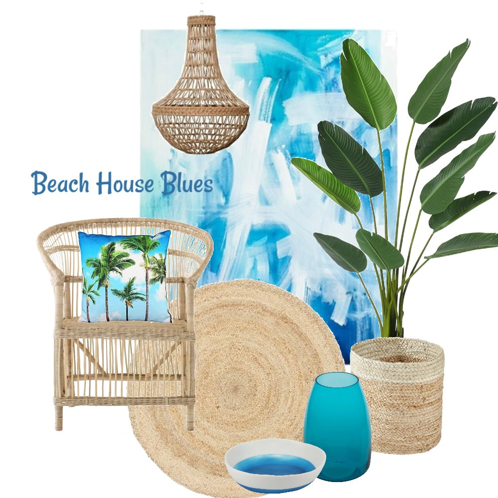 Beach House Blues Mood Board by ZEPHYR on Style Sourcebook
