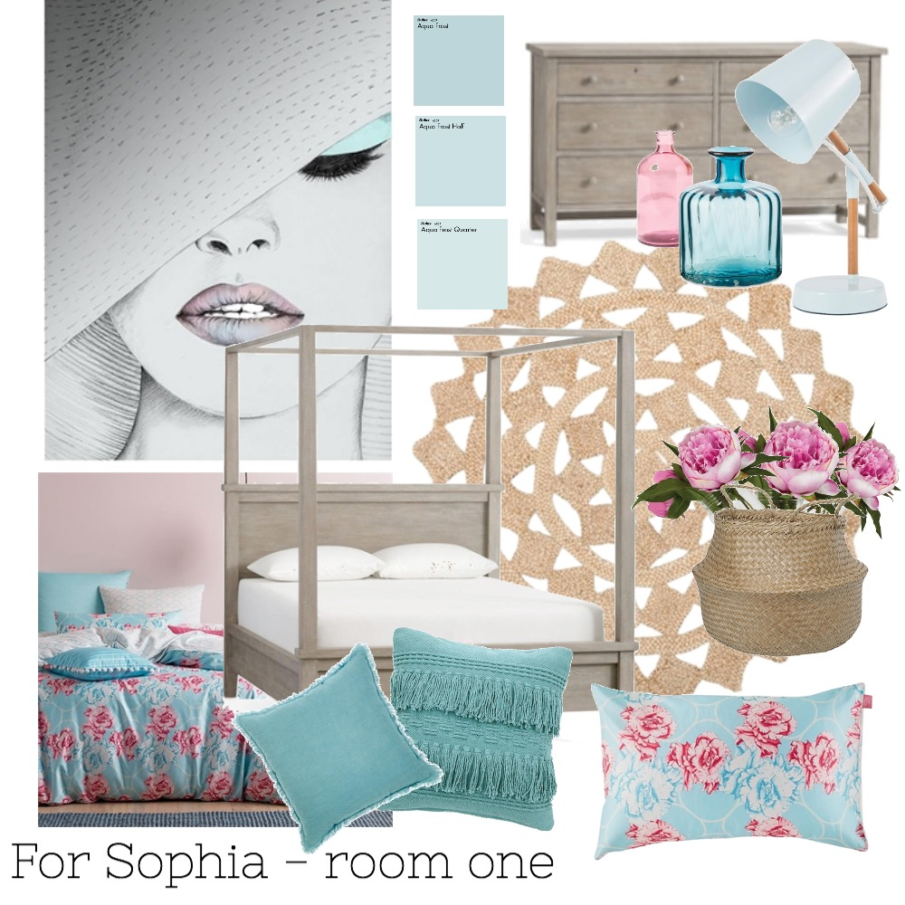 For Sophia - room one Mood Board by Bryce on Style Sourcebook